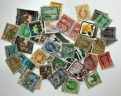 Job Lot of - Used - Off Paper - Mixed World - Postage Stamps - Inc Rhodesia