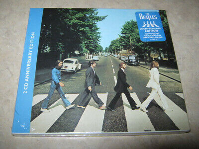 THE BEATLES-ABBEY ROAD 2 CD Anniversary Edition SEALED! With Booklet!