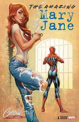 Amazing Mary Jane 1 Mj J Scott Campbell B Exclusive Variant Nm Pre-Sale 10/23