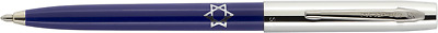 STAR OF DAVID imprint on BLUE Full-size Fisher Space Pen Capomatic in gift box