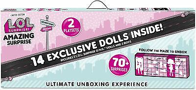 LOL Surprise Amazing Surprise With 14 Dolls & 70+ surprises - NEW - IN STOCK NOW