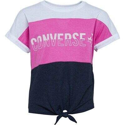 Converse Girls Colour Blocked Mesh Top Active Fuchsia - Size 10-12 Years , BNWT