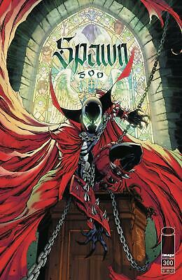 Spawn #300 G J Scott Campbell Variant  VF+/NM+
