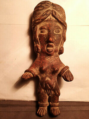 Pre Columbian Pottery  Figure unique one-of-a-kind!
