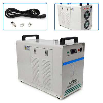 Cw-5000 Industrial Water Chiller Glass Laser Tube Laser Equipment Dissipate Hea