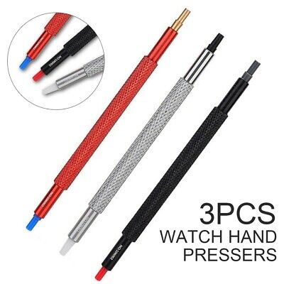 3pcs Watch Hand Pressers Pusher Fitting Tool Set Wristwatch Repair Tool 5 Sizes
