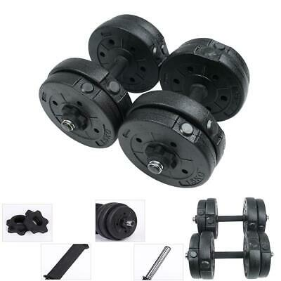 15KG Dumbbell Set Weight Gym Workout Biceps Triceps Free Weights Training