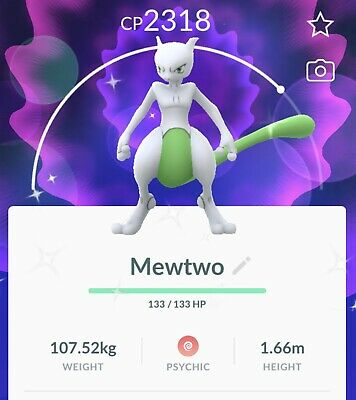 Pokemon Go Shiny Mewtwo - Registered Trade Only