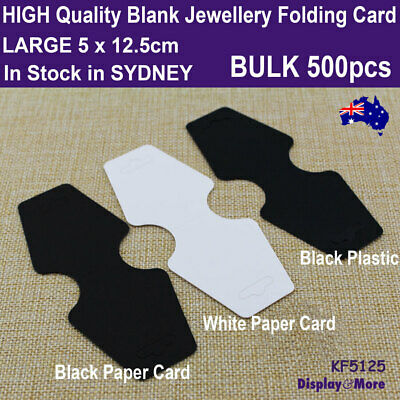 Folding Card JEWELLERY Necklace Blank | 500pcs WHOLESALE | Large | AUSSIE Seller