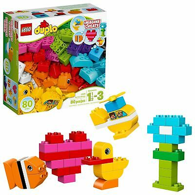 My First Creative Lego Bricks 10848 Colorful Toys Building Kit Play  (80 Pieces)
