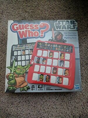 Guess Who? Star Wars 2012 Edition Game Hasbro Sealed NEW