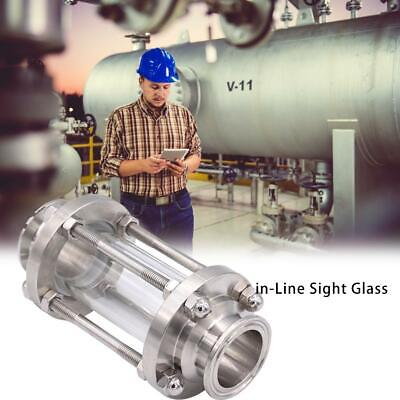 In-Line Sight GlassStainless Steel Flow Straight Sight Glass for Liquid Oil Gas