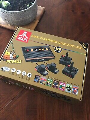 Atari Flashback 8 Gold Deluxe HD Console - AR3620, Brand New - Open Box