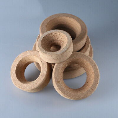 5 PCS Durable Cork Round Flask Holders Rings Stands Lab Accessory Supply Article
