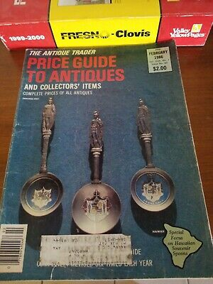 Antique Trader Price Guide June 1987 total 5 magazines