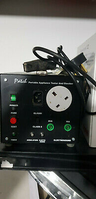 Electrosound Patch Portable Appliance Tester and Checker EPT 5001
