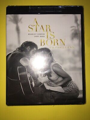 "A STAR IS BORN (4K Ultra HD, Blu-ray, 2018, Includes Canada  Digital Copy ""NEW)"