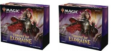 MTG - Throne Of Eldraine - Bundle/Fat Pack x 2  (Sealed) Ship October 7th