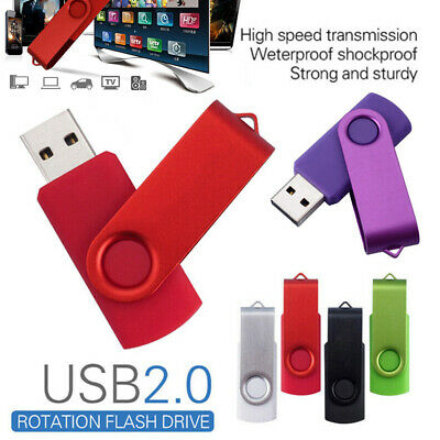 3.0 High Speed 2TB USB Flash Memory Stick Thumb U Disk Memory Drive Swivel OTG