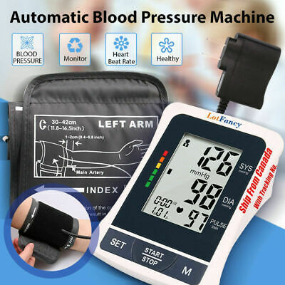 "Automatic Blood Pressure Monitor BP Arm Cuff 8.6-14.2""Gauge Machine Tester Meter"