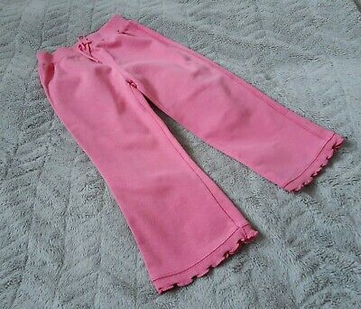 Baby Girls 100% Cotton Pink Joggers/Jogging Pants/Bottoms (2 Years) - By Gap