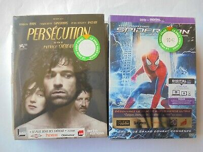 Lot De 6 Dvd Neuf Emballe Lucy Planetes Singes Invictus Spider Man