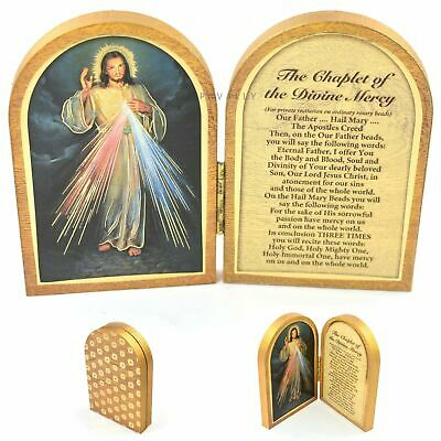 Sacred Heart of Jesus and Mary Diptych Plaque Religious Decor Gift