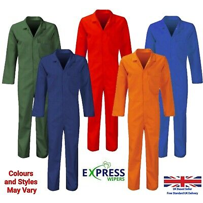 Boiler Suit Overalls - Unisex - Thick Material - Choose your size!