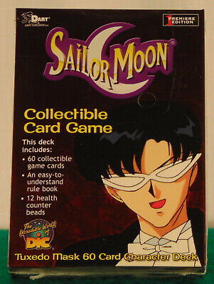 Sailor Moon character Deck 60 mint cards Factory sealed