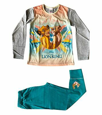 The Lion King Best Friends Girls Blue & Grey Snuggle Fit Pyjamas