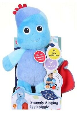 In The Night Garden Large Talking Iggle Piggle Interactive Plush Toy Boxed