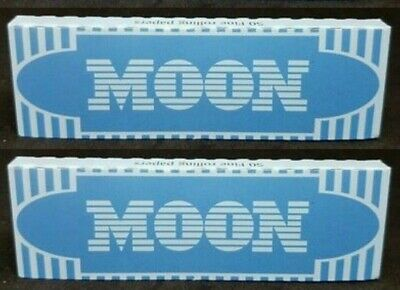 2 Packs Moon Blue Rice Rolling Papers *Best Price* USA Shipped
