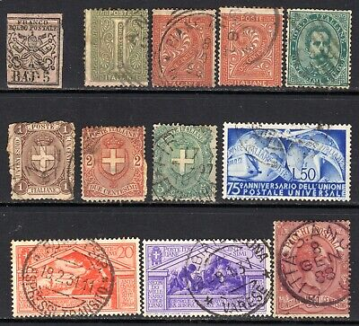 (A-809) Italy - lot of early - includes states and parcel post
