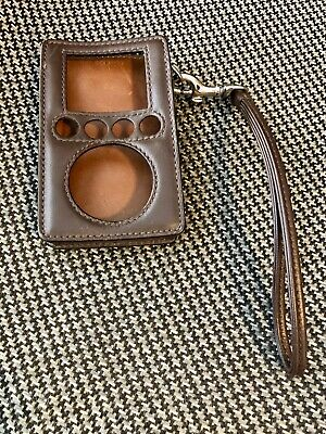 Rare Coach Brown Leather Case for Apple iPod Classic 3rd Generation