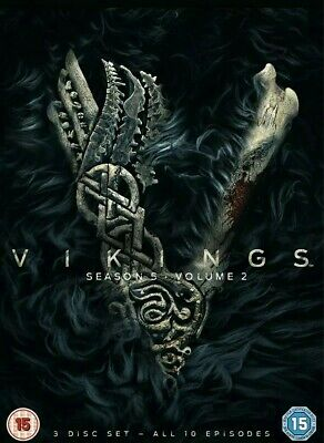 Vikings Season 5 Volume 2 (DVD) Gustaf Skarsgård, Katheryn Winnick