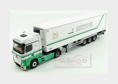 OVP Herpa 309196 MERCEDES-BENZ ACTROS BIGSPACE-Rosso 1:87 NUOVO