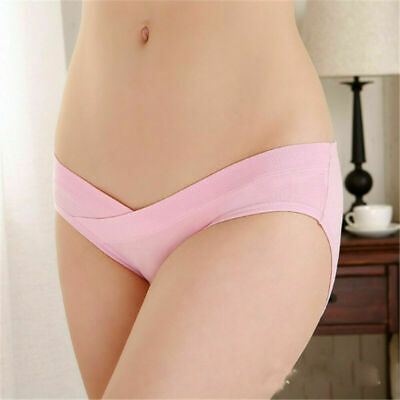 Womens Gifts Pregnant Maternity Waist Underwear Briefs Knickers Panties Low