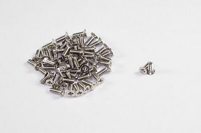 """Lot of 40 NAS662C2R4 Machine Screw Flat Head Phillips 2-56 x 1/4"""" Stainless NOS"""
