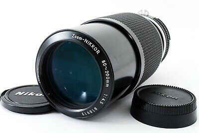 【EXC+++!!】 Nikon Ai Zoom Nikkor 80-200mm f 4.5 AI MF Lens from Japan A0157