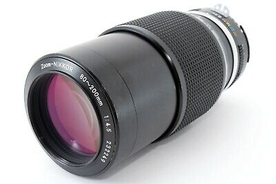 【Excellent-!!】 Nikon AI Zoom Nikkor 80-200mm f/ 4.5 MF Zoom Lens from Japan A216
