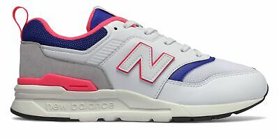 New Balance Kid's 997H Big Kids Unisex Shoes White with Blue