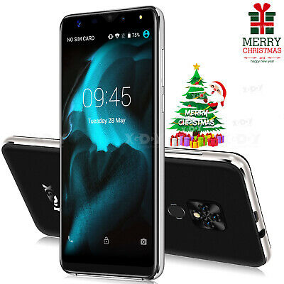 5.5'' Android 9.0 Unlocked Smartphone 4Core Dual Sim 3G Cell Phone 16GB XGODY