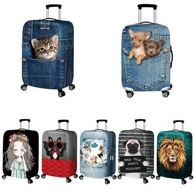 """Durable Luggage Protective Case Cover Suitcase Dust New 18"""" Protect - 32"""" E4N5"""