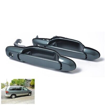 1998-2003 For Toyota Sienna Outside Door Handle Front /& Rear Burgundy 3M6 4PCS