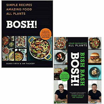 BISH BASH BOSH, BOSH 2 Books Collection Set By Henry Firth Simple Recipes