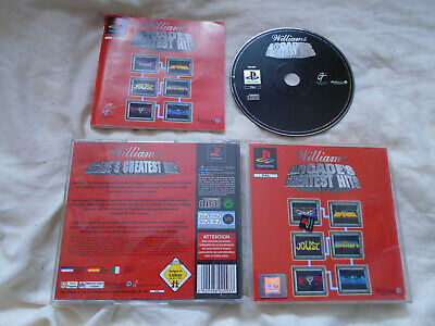 Williams Arcade's Greatest Hits PS1 (COMPLETE) Sony PlayStation black label rar
