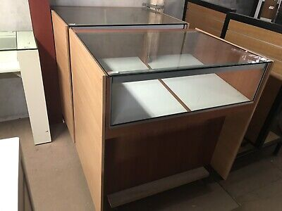 Jewellery display cabinets shop counter