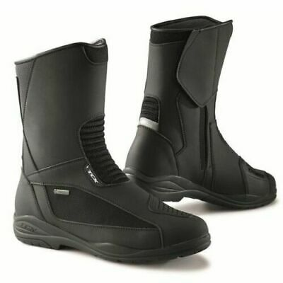 TCX Explorer Evo Gore-Tex Waterproof Motorcycle Boots Black