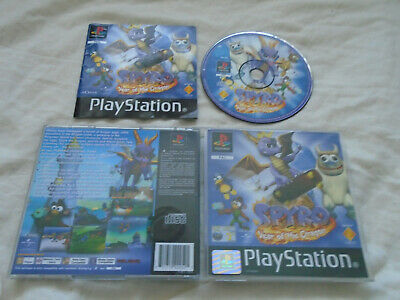 Spyro Year of the Dragon PS1 (COMPLETE) platform black label Sony Playstation