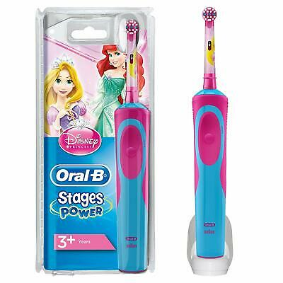 Oral-B Vitality Stages Power Electric Rechargeable Toothbrush Princesses Kids 3+